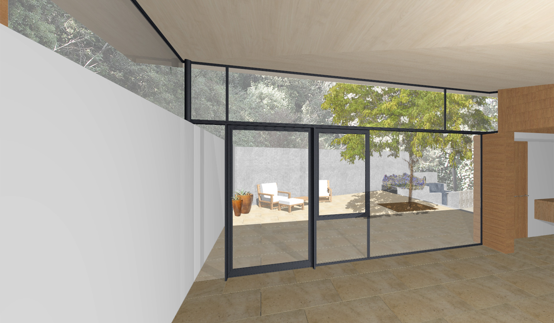 Beverly Hills Modern Guest House By Dutton Architects